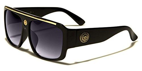 135f4014261 (click photo to check price). 1. Kleo Flat Top Hip Hop Rapper Retro Aviator  Sunglasses ...