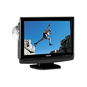 Toshiba 15LV505 15.6-Inch Widescreen LCD TV with Built-in DVD Player (Black)