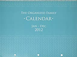 Glow Baby Organized Family Calendar 2012, Turquoise