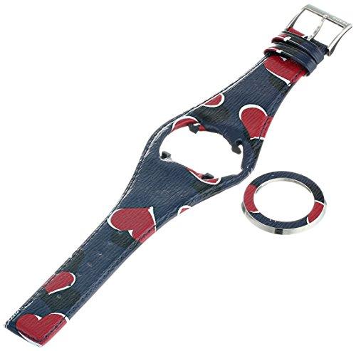 Gucci Women's YFA50057 Gucci U-Play Collection Blue Watch Strap
