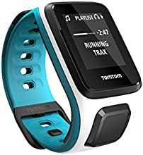 TomTom Spark Cardio + Music Small White/Scuba Blue