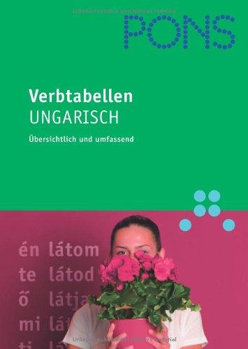 PONS Verbtabellen Ungarisch: Übersichtlich und umfassend