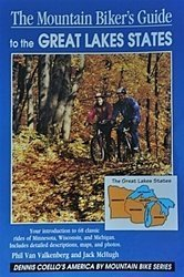 The Mountain Biker's Guide to the Great Lakes States: Minnesota Wisconsin Michigan (Dennis Coello's America By Mountain Bike)