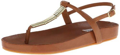 Steve Madden Women'S Dorthee Flip Flop,Cognac,8.5 M Us front-809114