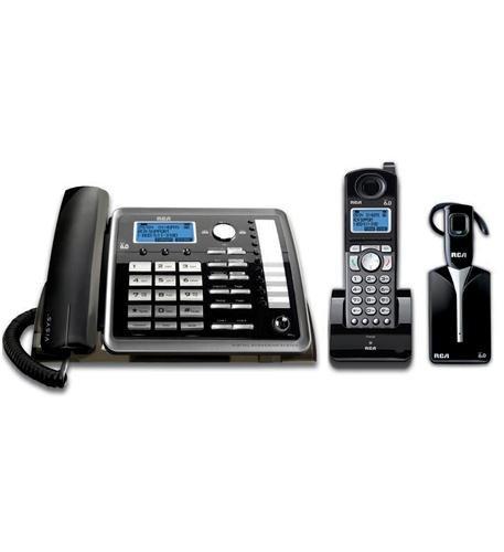 New Rca 2 Line Corded/Cordless W/ Headset (Corded Telephones)