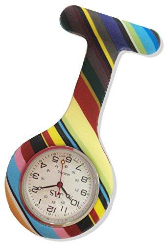 boolavardr-tm-nurses-fashion-coloured-patterned-silicon-rubber-fob-watches-rainbow