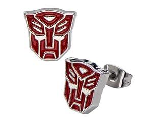 Hasbro Transformers Autobots Logo Stud Earrings