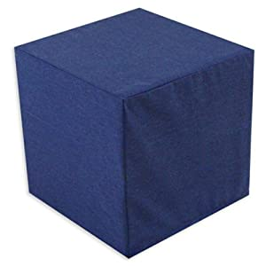 Chooty & Co. Solid Republic Foam Ottoman -