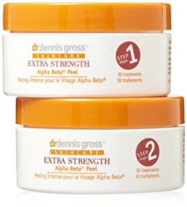 Dr. Dennis Gross Skincare Extra Strength Alpha Beta Peel, 30 Count JAR