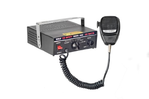 Wolo 4100 100 The Deputy Watt Electronic Siren, P.A. System And Radio Rebroadcast