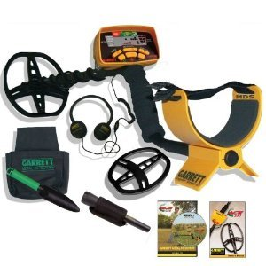 Garrett Ace 350 Metal Detector Ultimate Treasure Hunter Package W/Free Headphones & Dvd