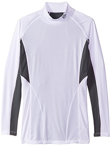 Tesla-Men-s-Cool-Dry-Compression-Baselayer-Mock-Long-Sleeve-T-Shirts-T12-T12-WGW-Small