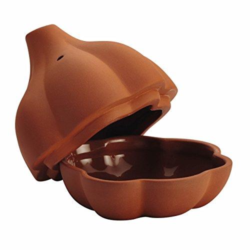 Best Deals! Rachael Ray Cucina Stoneware 4-1/2-Inch Terra Cotta Garlic Roaster