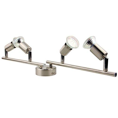 OUBO-LED-Deckenleuchte-GU10-Lampe-Spot-Strahler-Deckenlampe-Wandlampe-Spotlights-Halogen-Einbaustrahler-4-flammig