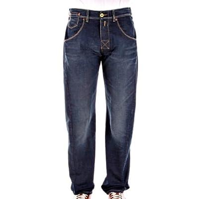 Armani Jeans regular waist J26 stonewash denim jean AJM6643
