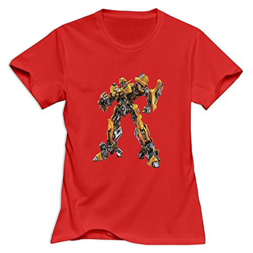 StaBe Women's Transformers T-Shirt Unique Cool XL Red