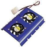 アイネックス ハードディスククーラー HDC-350B-BL