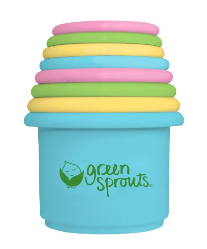 green sprouts Stacking Cups, 8 Count