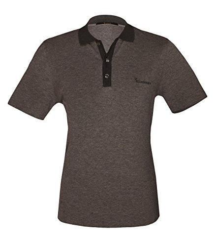 billionaire-couture-mens-grey-cotton-cashmerepolo-t-shirt-with-logo-56a-xl