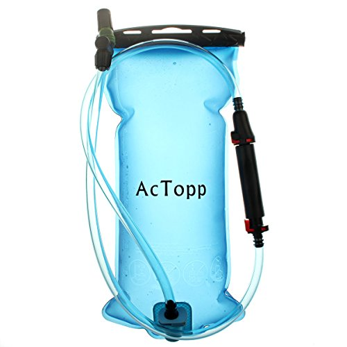 AcTopp-Hydration-Bladder-with-Filter-2-Liter70-oz-FDA-Approved-Non-Toxic-BPA-Free-Water-Storage-Bladder-with-Leaking-Proof-Mouthpiece-Best-for-Cycling-Climbing-CampingBlue