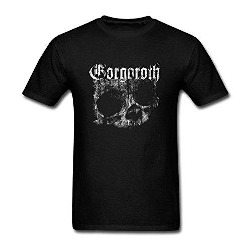 Men's Gorgoroth Short Sleeve Cotton T Shirt Royal Blue