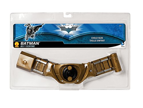 Batman: The Dark Knight Rises: Batman Utility Belt, Child Size (Gold)