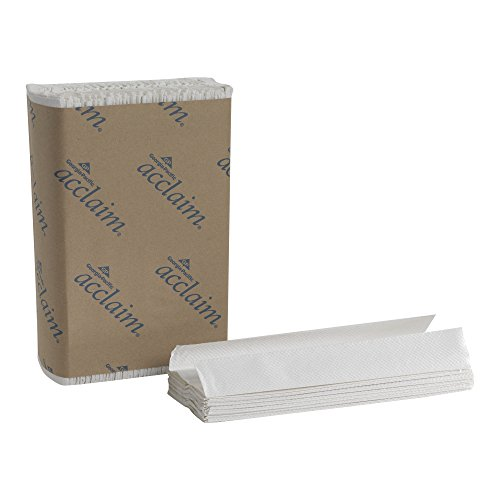 Georgia-Pacific Acclaim 20603 White C-Fold Paper Towel, (WxL) 10.100