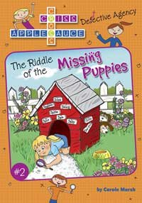 Gallopade The Riddle Of The Missing Puppies #Gl61708
