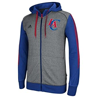 Los Angeles Clippers Adidas 2013 Pre-Game Full Zip Hooded Jacket M by adidas