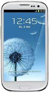 Samsung Galaxy S III I9300 Smartphone 32 GB (12,2 cm (4,8 Zoll) HD Super-AMOLED-Touchscreen, 8 Megapixel Kamera, Micro-SIM, Android 4.0) marble-white
