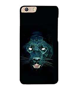 printtech Black Panther Back Case Cover for Micromax Canvas Knight 2 E471