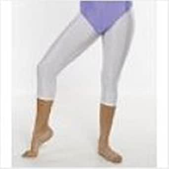 Girls /Ladies gymnastic/dance capri tights/three quarter length footless tights (11-12yrs, Navy)