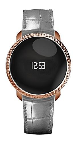 Mykronoz Zecircle Premium Smartwatch Impermeabile, Rosa/Oro