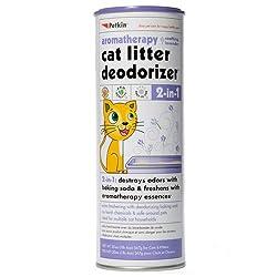 Petkin Cat Litter Deodorizer Lavender 2 in 1,567gm