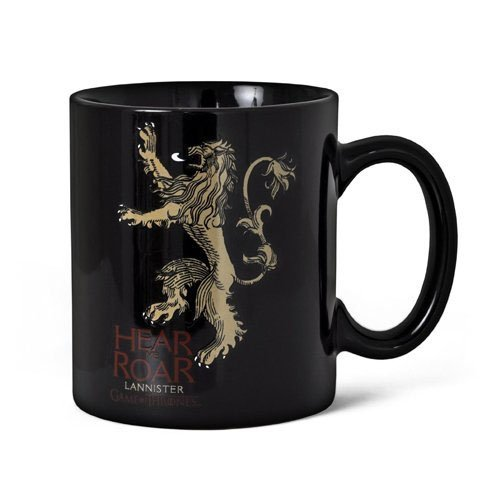 SD Toys SDTIKO00182 - Tazza in ceramica con disegno Hear Me Roar Lannister Game Of Thrones
