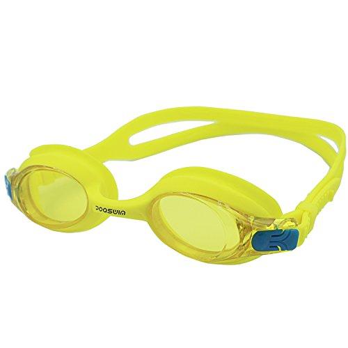 poqswim Schwimmbrille, anlaufgeschützt, für Kinder und Jugendliche