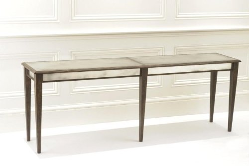 Cheap Notre Monde CT8418-BD Console Table with Straight Legs – Black Driftwood (CT8418-BD)