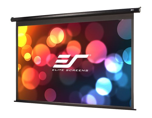 "Elite Screens Vmax120Uwh2 Vmax2 Electric Projector Screen (120 Inch Diagonal 16:9 Ratio 58.9""Hx104.6""W)"