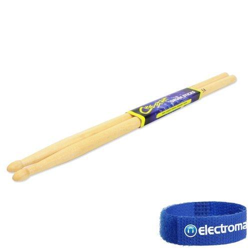 Cheetah Maple 5A Drummer Band Group Performance Wooden Drum Sticks Pair 14 X 406 Mm