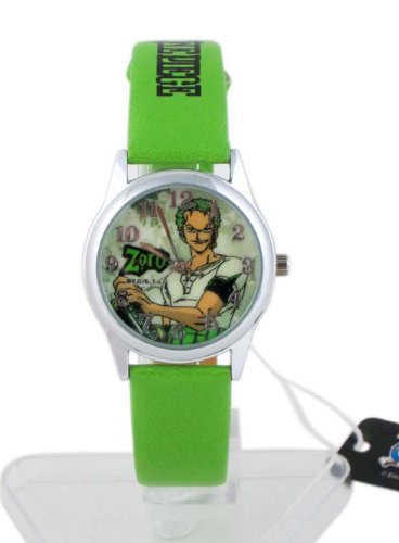 Green Band One Piece Anime Watch - One Piece Watch