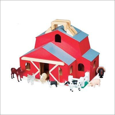 Fold and Go Barn, by Melissa & Doug - Buy Fold and Go Barn, by Melissa & Doug - Purchase Fold and Go Barn, by Melissa & Doug (Melissa & Doug, Toys & Games,Categories)