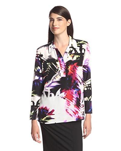Natori Women's Floral Tunic Top