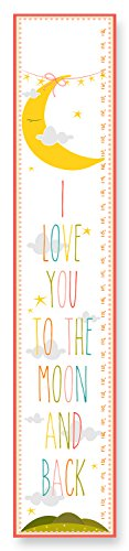 The Kids Room by Stupell I Love You to the Moon and Back Growth Chart - 1