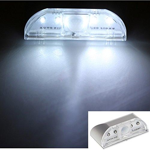 cybly (TM) New 4LED PIR Keyhole automatique détecteur de mouvement détecteur Lampe Cuisine Armoire Armoire sensibles