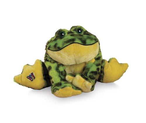 """Ganz Lil'Kinz Bullfrog 6.5"""" Plush - 1"""