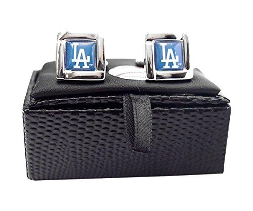 MLB Los Angeles Dodgers Square Cuff Links