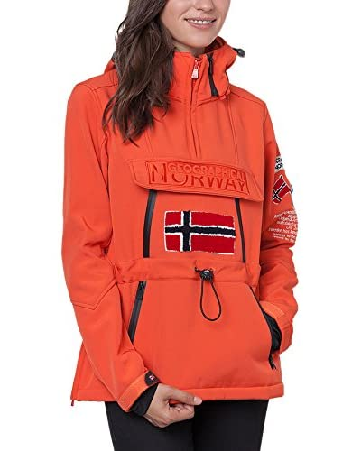 Geographical Norway Softshell Tulbeuse Coral