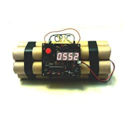 Novelty Defusable Bomb Alarm Clock / Bomb-like Alarm Clock