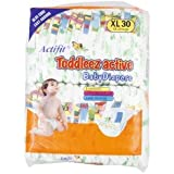 Toddleez Active Baby Diaper 30pcs - XL(12-25kgs), 30pcs