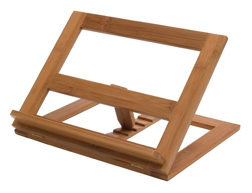 Lipper 8825 Bamboo Cookbook Holder (Wooden Recipe Holder compare prices)